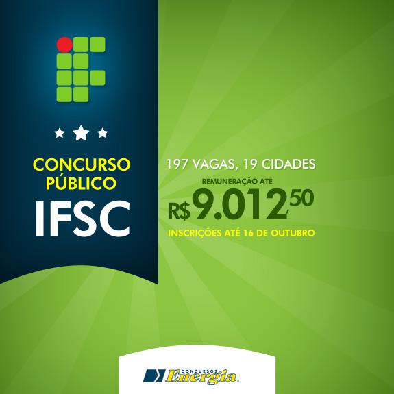 Concurso Público IFSC