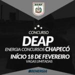 DEAP SC 2018 – Agente Penitenciário – Turma Chapecó